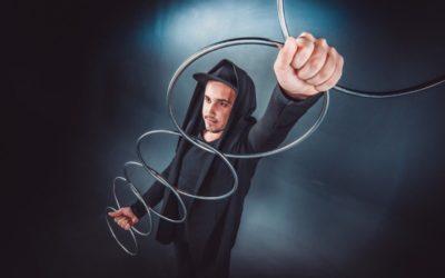 Фокусник-иллюзионист Виталий Чабан