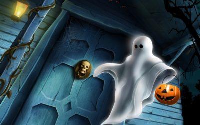 Фокусник на Хэллоуин
