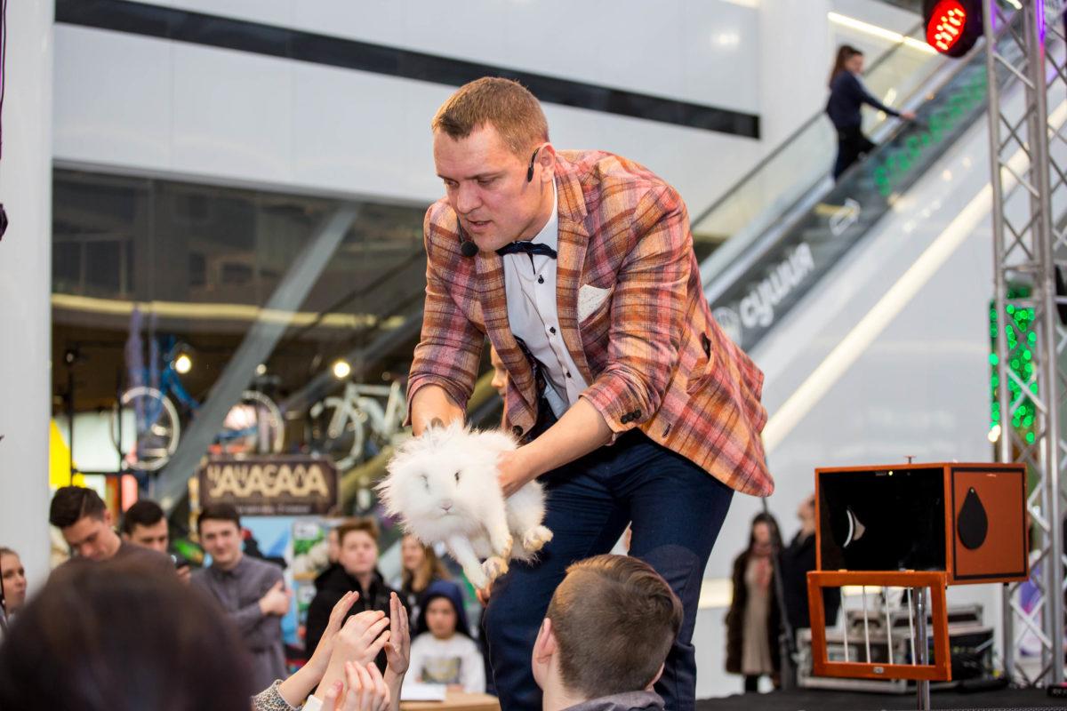 Фокусник с кроликом Киев
